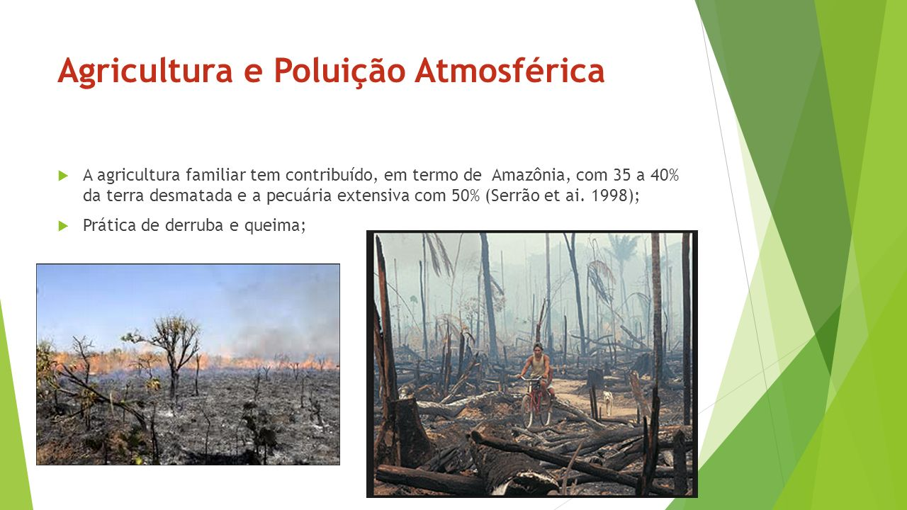 Agricultura e Poluição Atmosférica