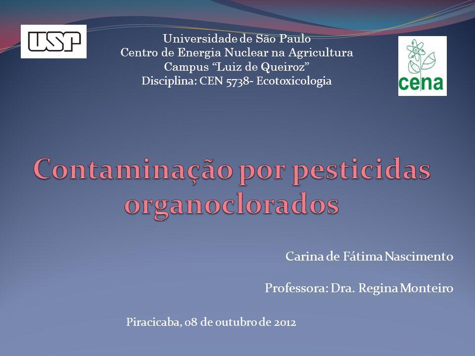 Contaminação por pesticidas organoclorados