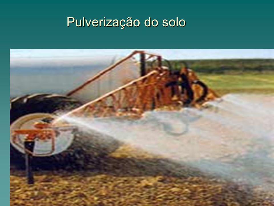 Pulverização do solo