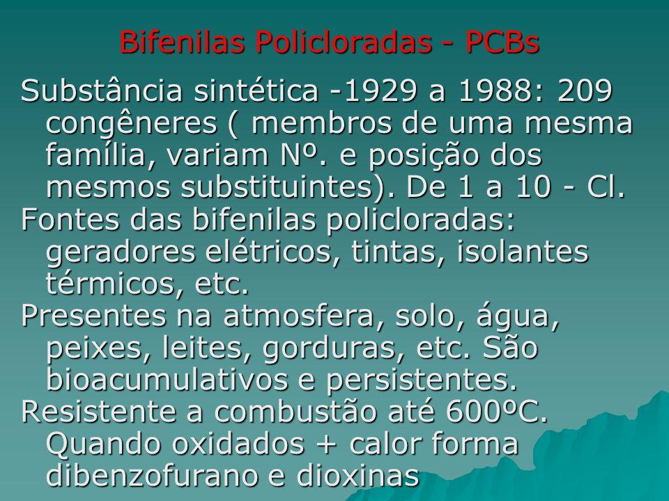 Bifenilas Policloradas - PCBs