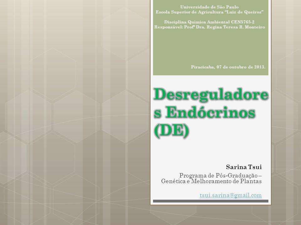 Desreguladores Endócrinos (DE)