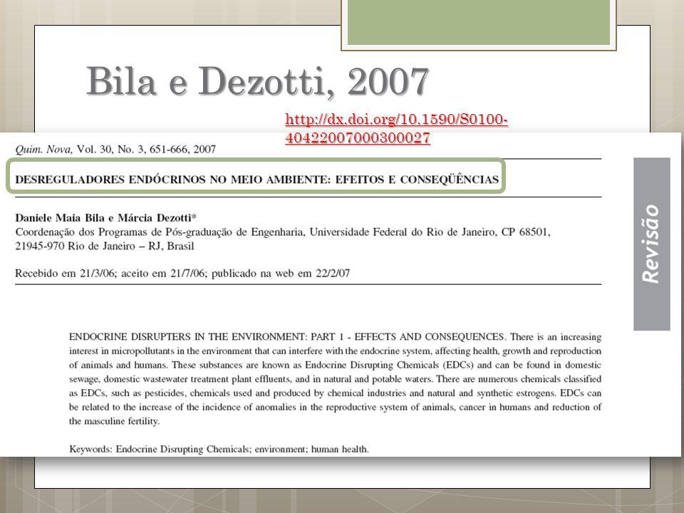 Bila e Dezotti, 2007 http://dx.doi.org/10.1590/S0100-40422007000300027