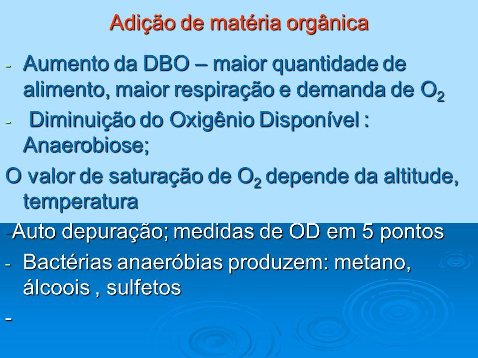 Adição de matéria orgânica