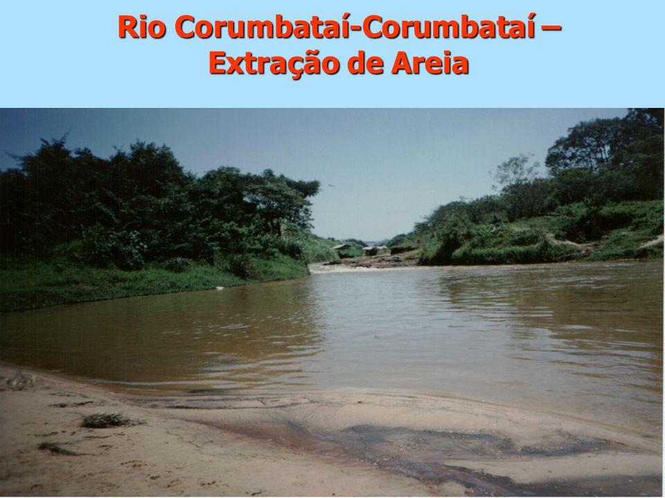 Rio Corumbataí-Corumbataí – Extração de Areia