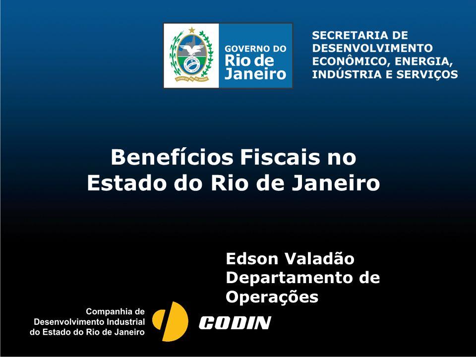 Benefícios Fiscais no Estado do Rio de Janeiro