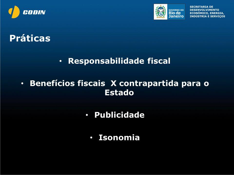 Práticas Responsabilidade fiscal