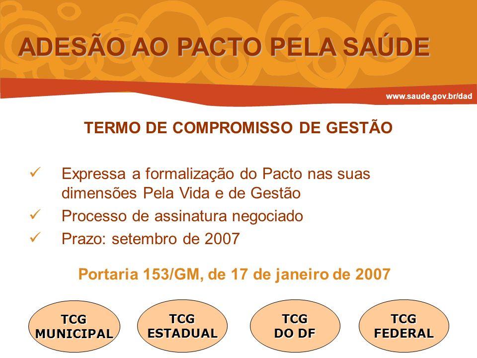 TERMO DE COMPROMISSO DE GESTÃO