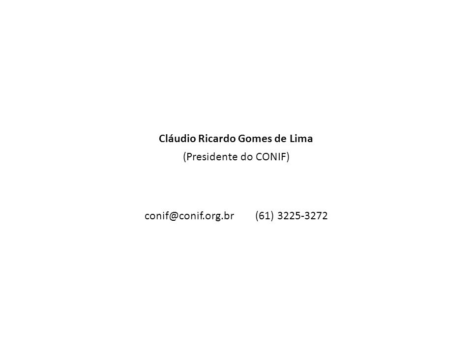 Cláudio Ricardo Gomes de Lima