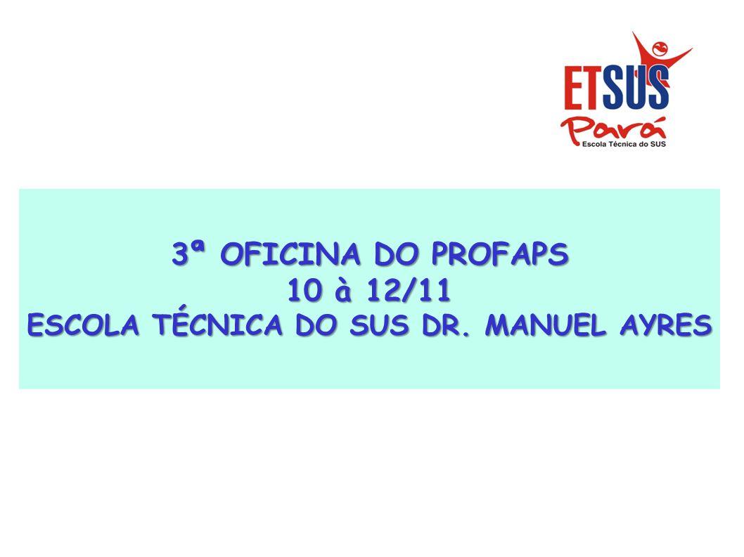 ESCOLA TÉCNICA DO SUS DR. MANUEL AYRES