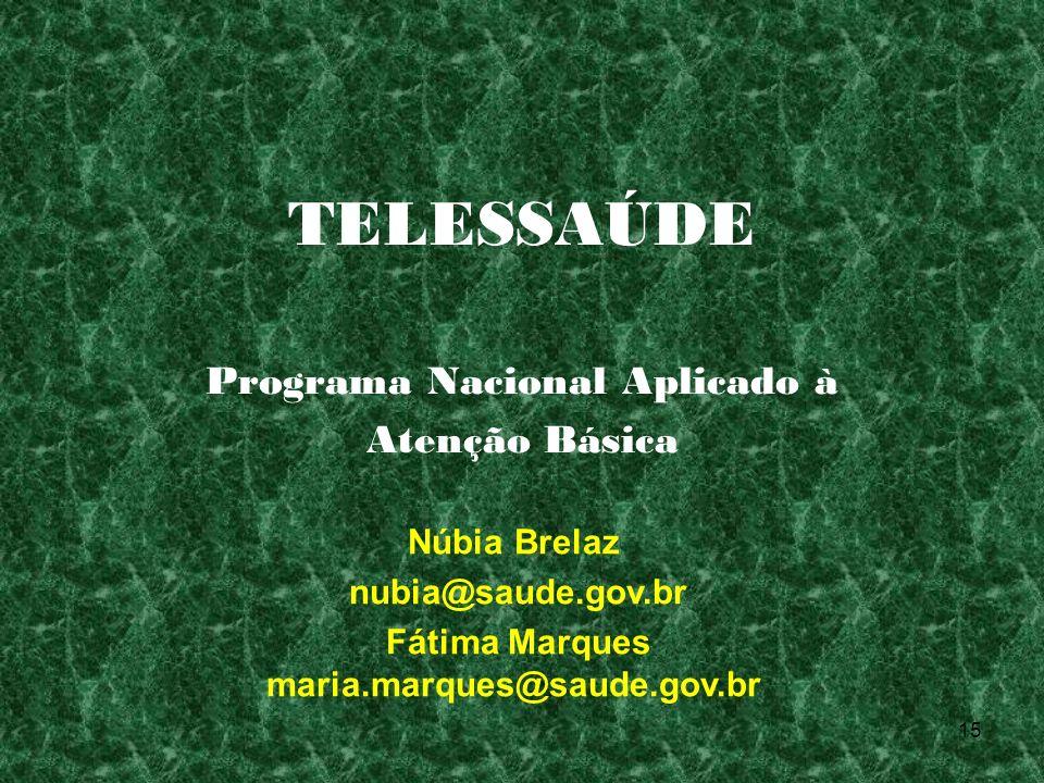 Programa Nacional Aplicado à Atenção Básica