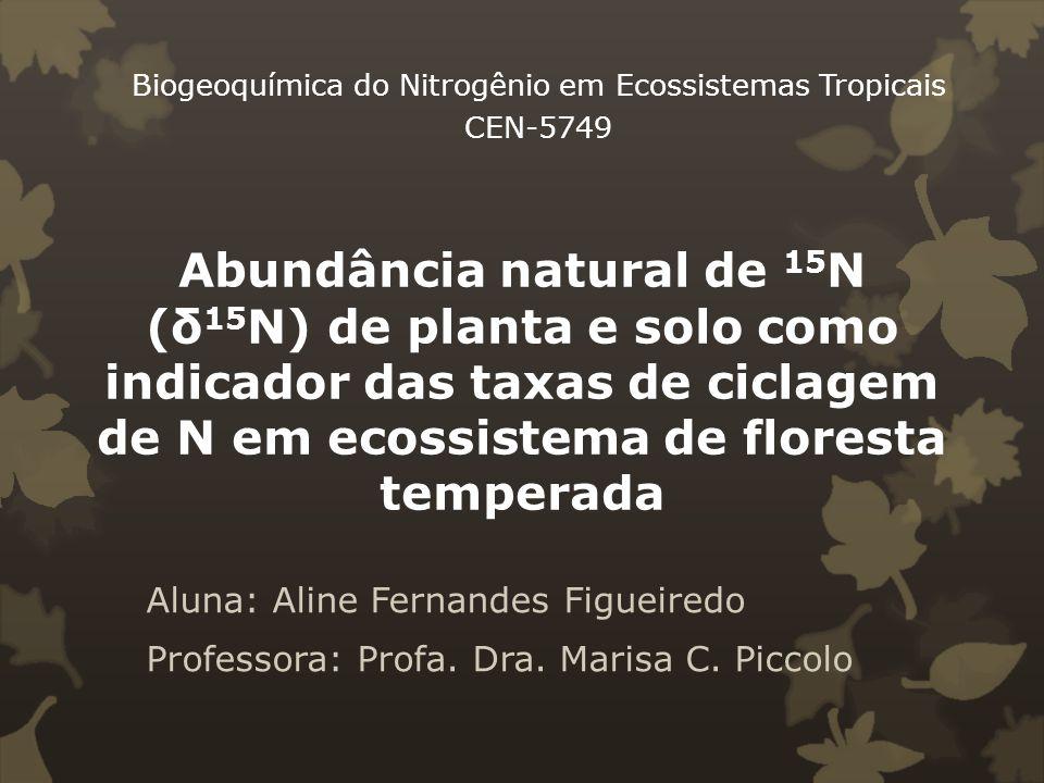 Biogeoquímica do Nitrogênio em Ecossistemas Tropicais