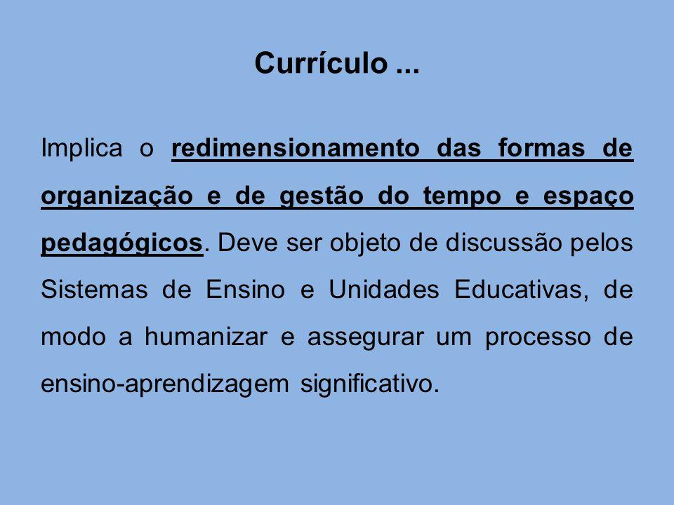 Currículo ...