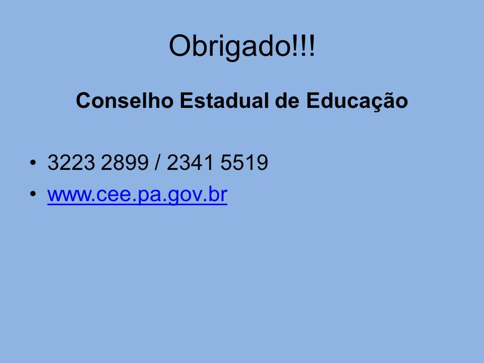Conselho Estadual de Educação