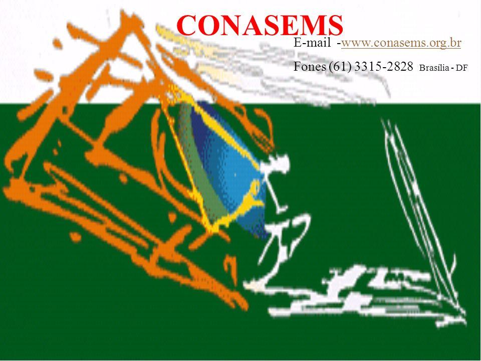 CONASEMS E-mail -www.conasems.org.br