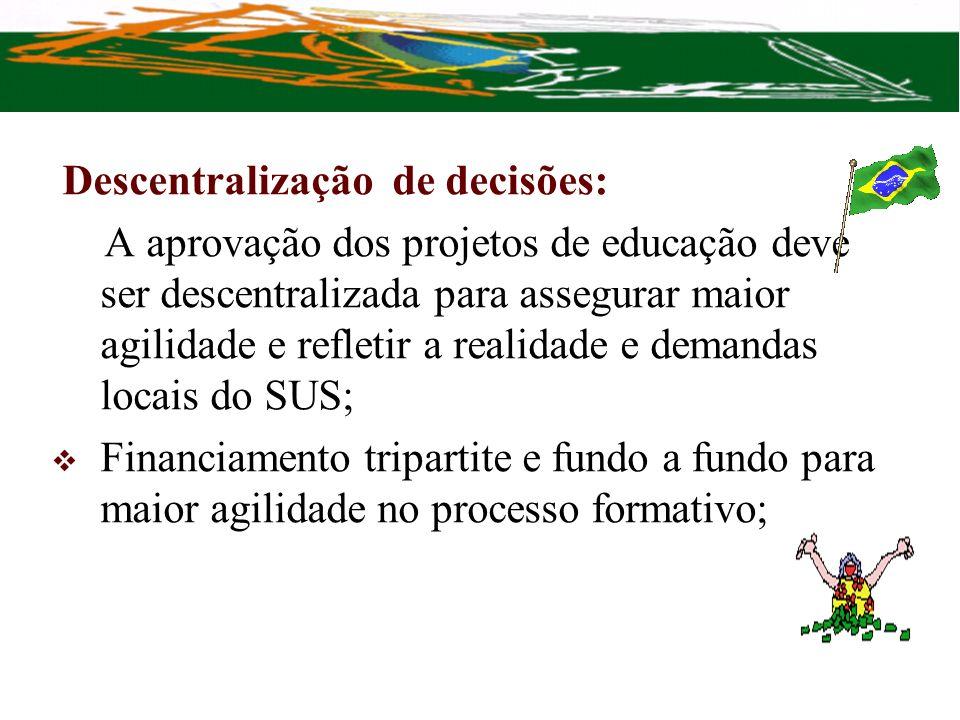Descentralização de decisões: