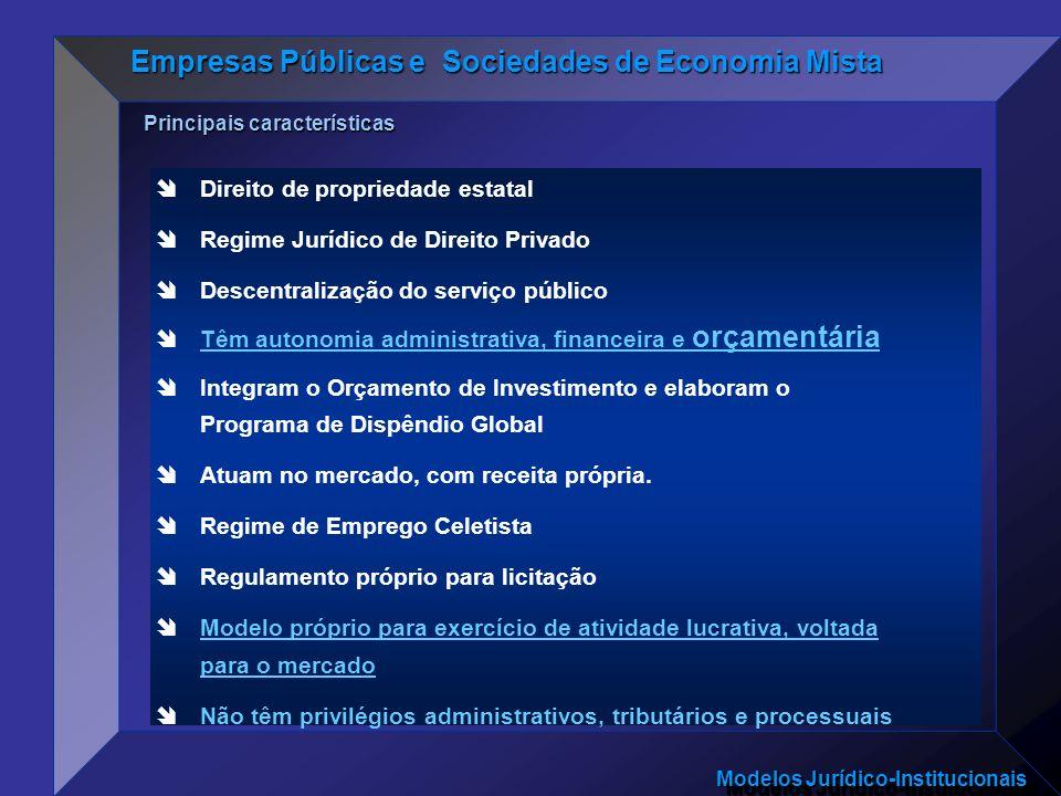 Empresas Públicas e Sociedades de Economia Mista