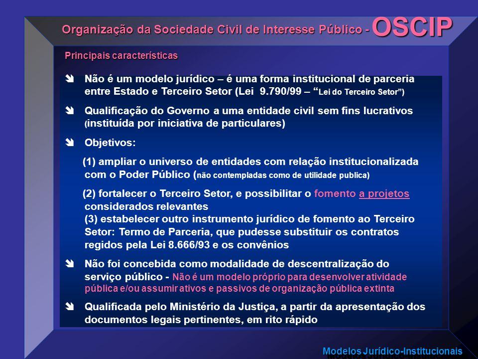 OSCIP Organização da Sociedade Civil de Interesse Público -