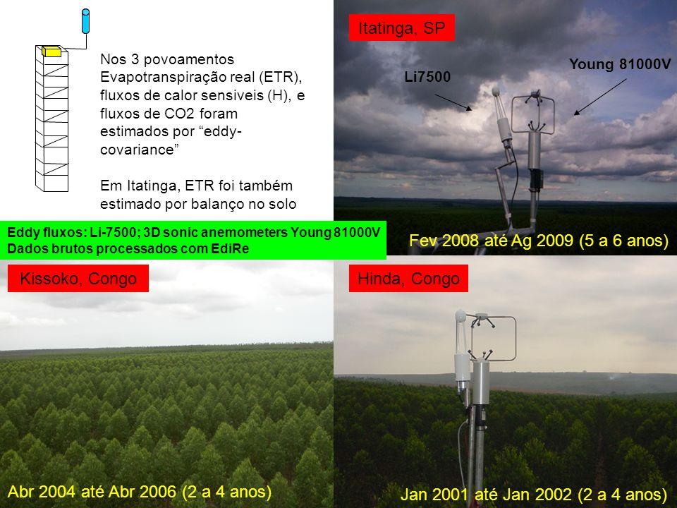Itatinga, SP Fev 2008 até Ag 2009 (5 a 6 anos) Kissoko, Congo