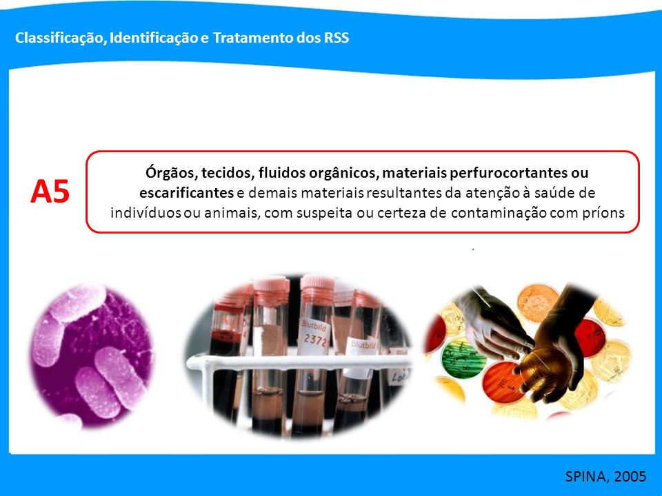 A5 Classificação, Identificação e Tratamento dos RSS