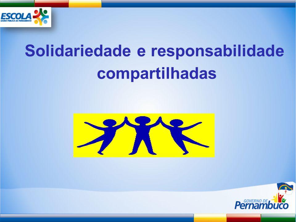 Solidariedade e responsabilidade