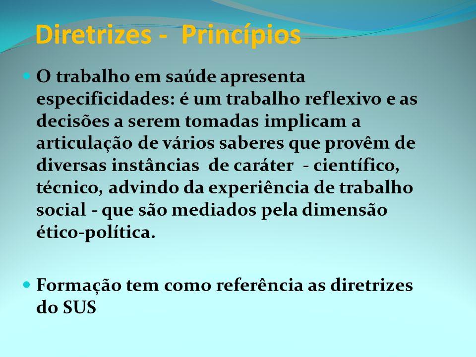 Diretrizes - Princípios