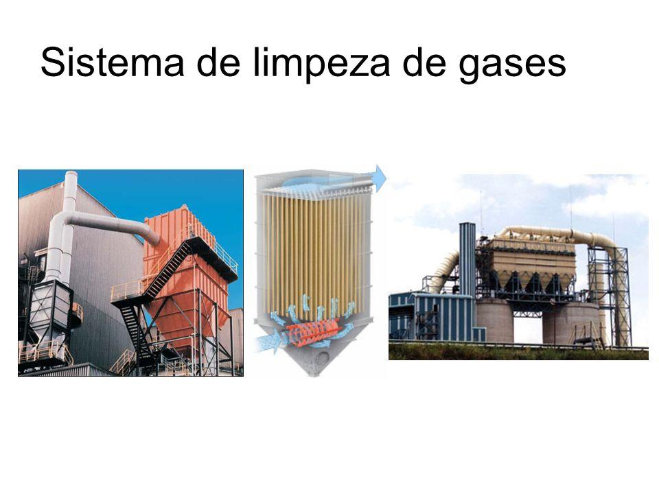 Sistema de limpeza de gases