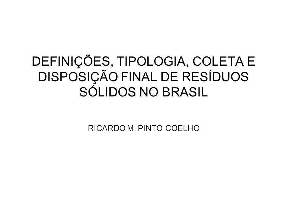 RICARDO M. PINTO-COELHO