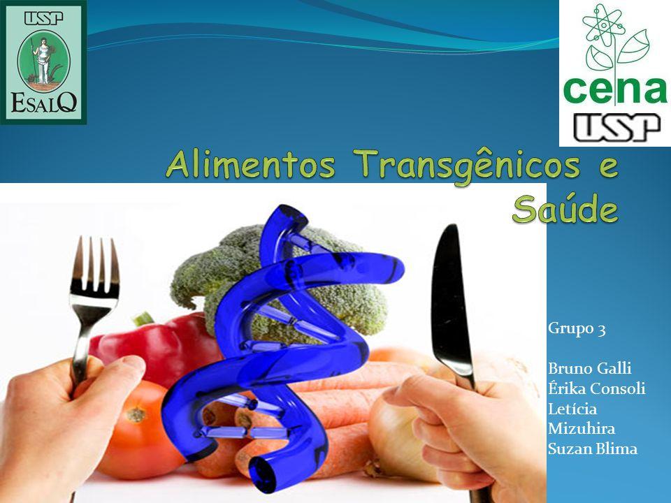 Alimentos Transgênicos e Saúde