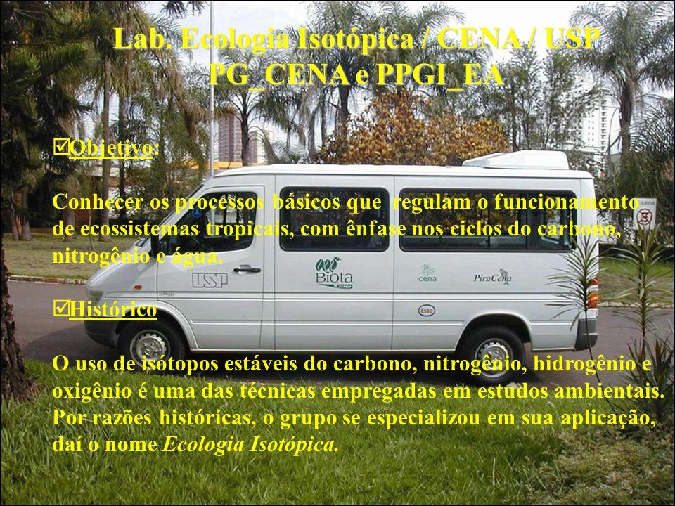 Lab. Ecologia Isotópica / CENA / USP