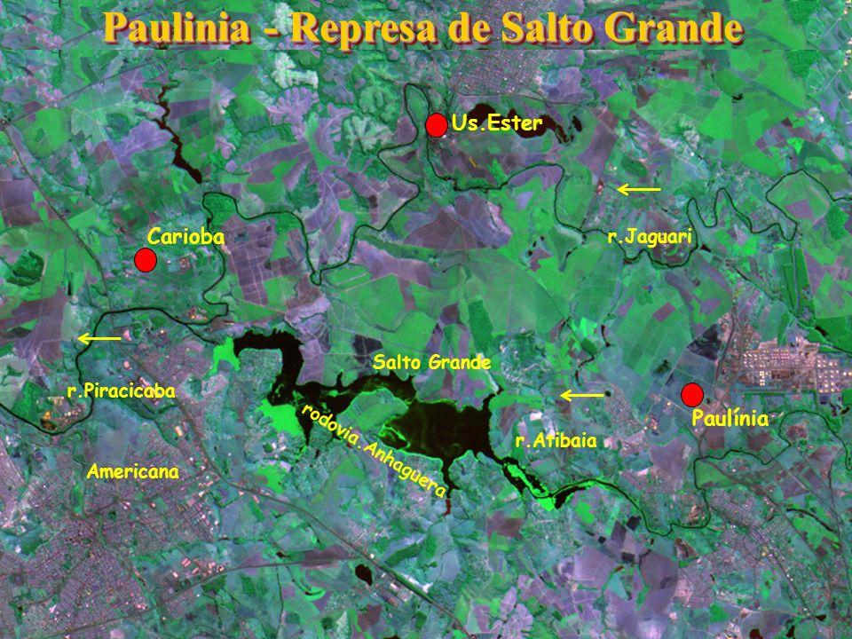 Paulinia - Represa de Salto Grande