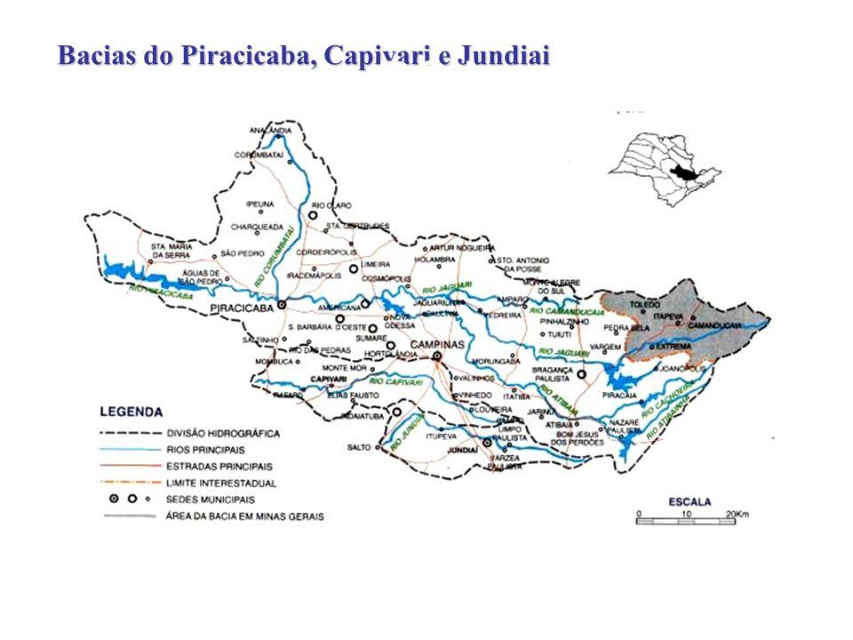 PCJ Bacias do Piracicaba, Capivari e Jundiai