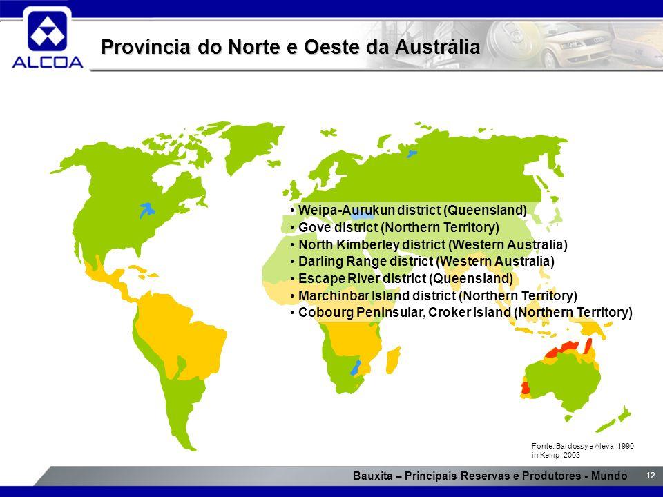 Província do Norte e Oeste da Austrália