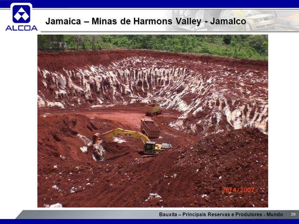 Jamaica – Minas de Harmons Valley - Jamalco