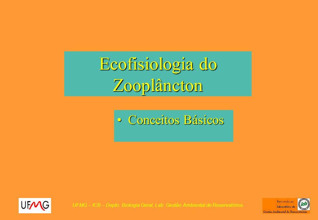 Ecofisiologia do Zooplâncton