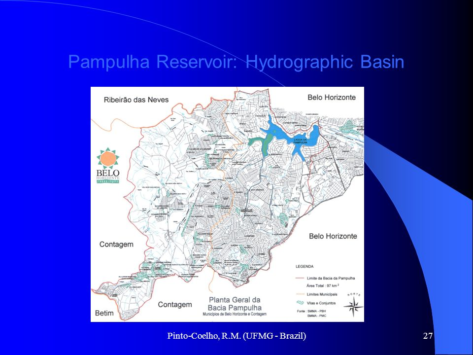 Pampulha Reservoir: Hydrographic Basin