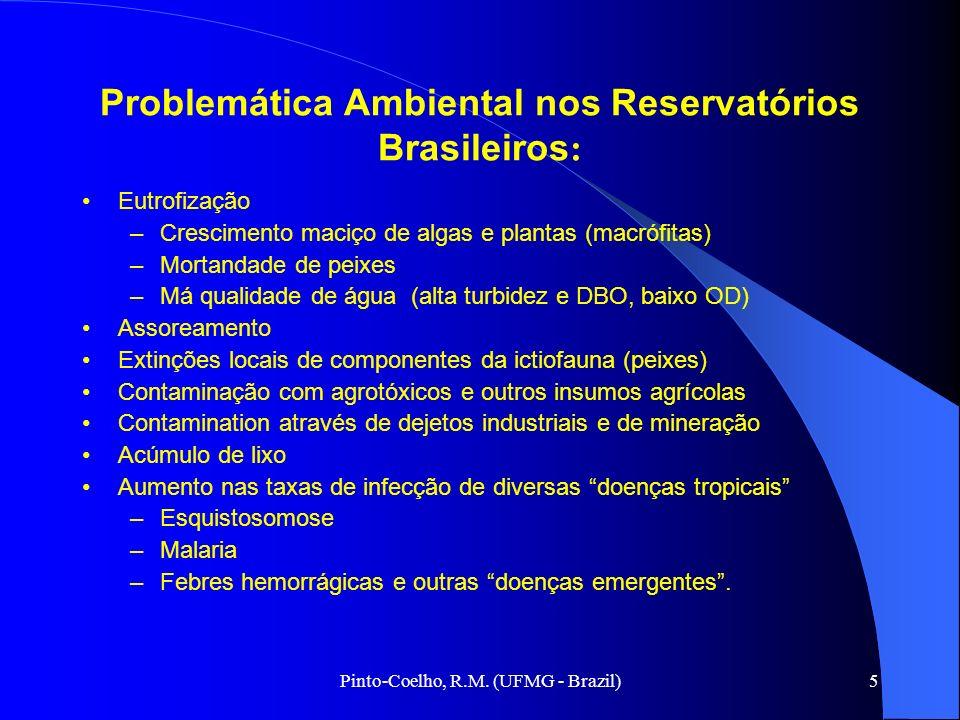 Problemática Ambiental nos Reservatórios Brasileiros: