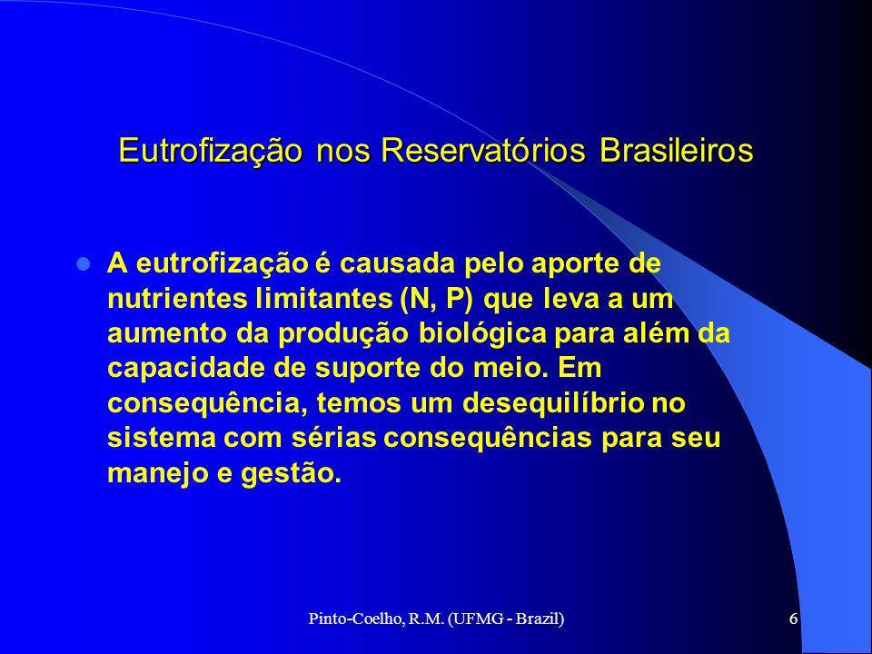 Eutrofização nos Reservatórios Brasileiros