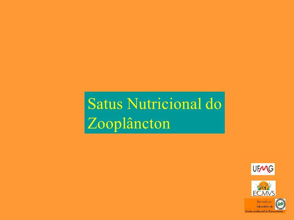 Satus Nutricional do Zooplâncton