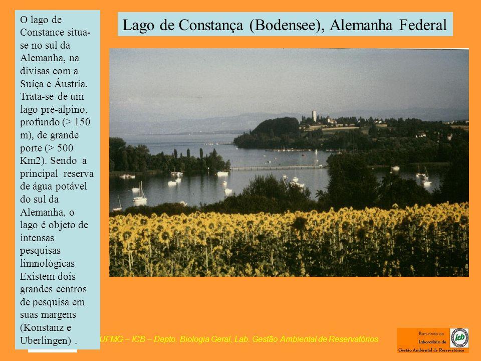 Lago de Constança (Bodensee), Alemanha Federal