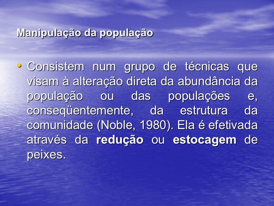 Manipulação da população