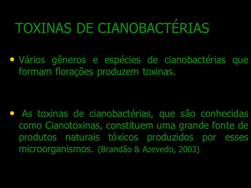 TOXINAS DE CIANOBACTÉRIAS