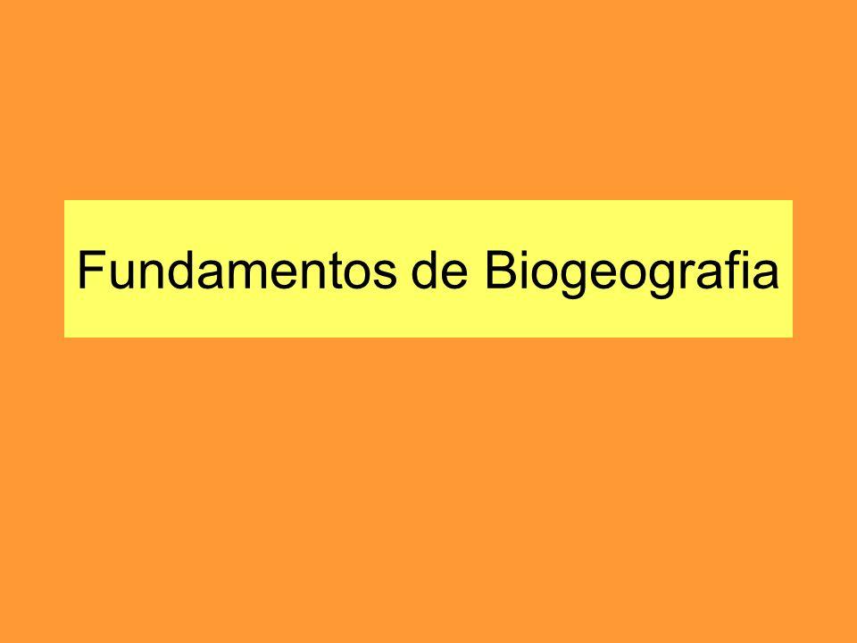 Fundamentos de Biogeografia