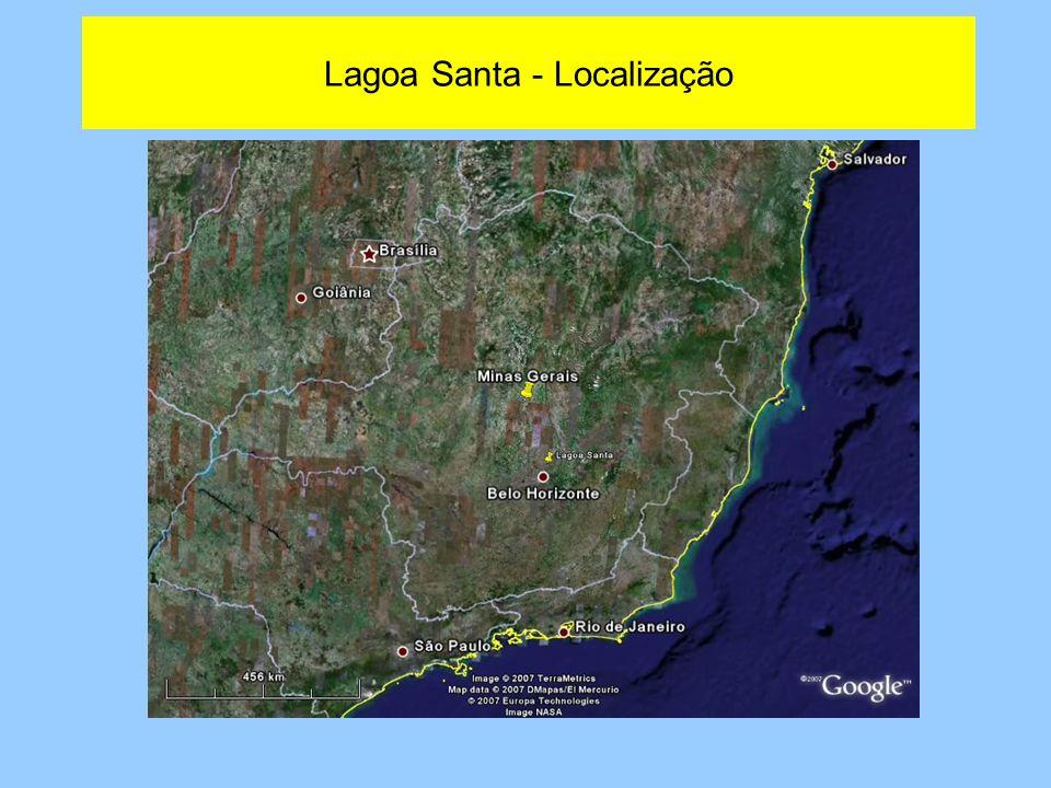 Lagoa Santa - Localização