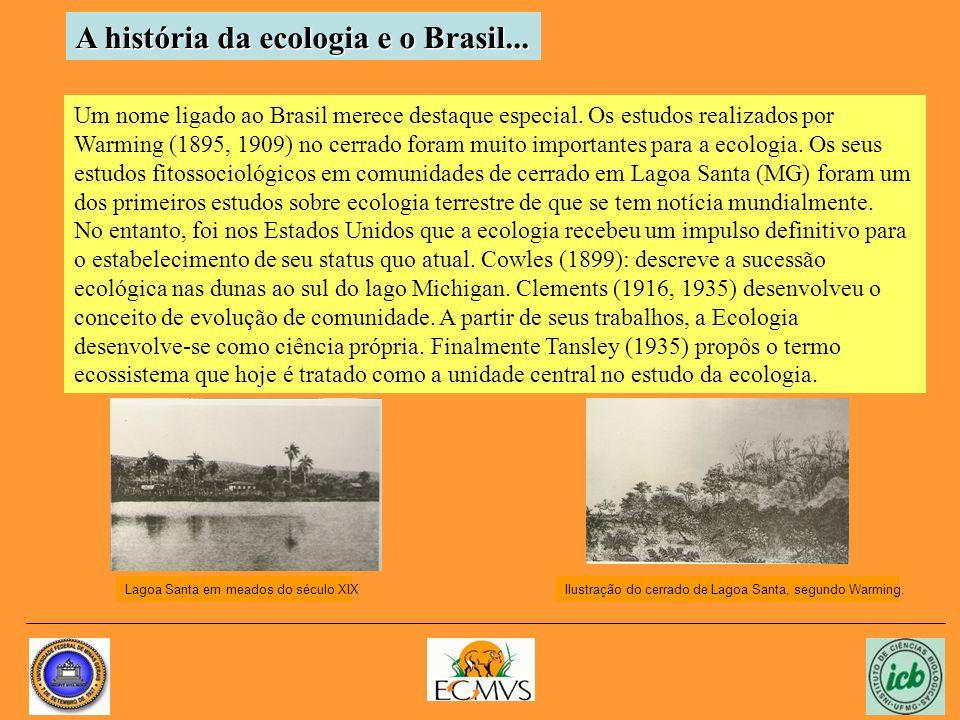 A história da ecologia e o Brasil...