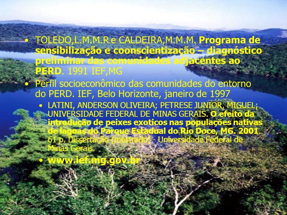 TOLEDO,L. M. M. R e CALDEIRA,M. M. M