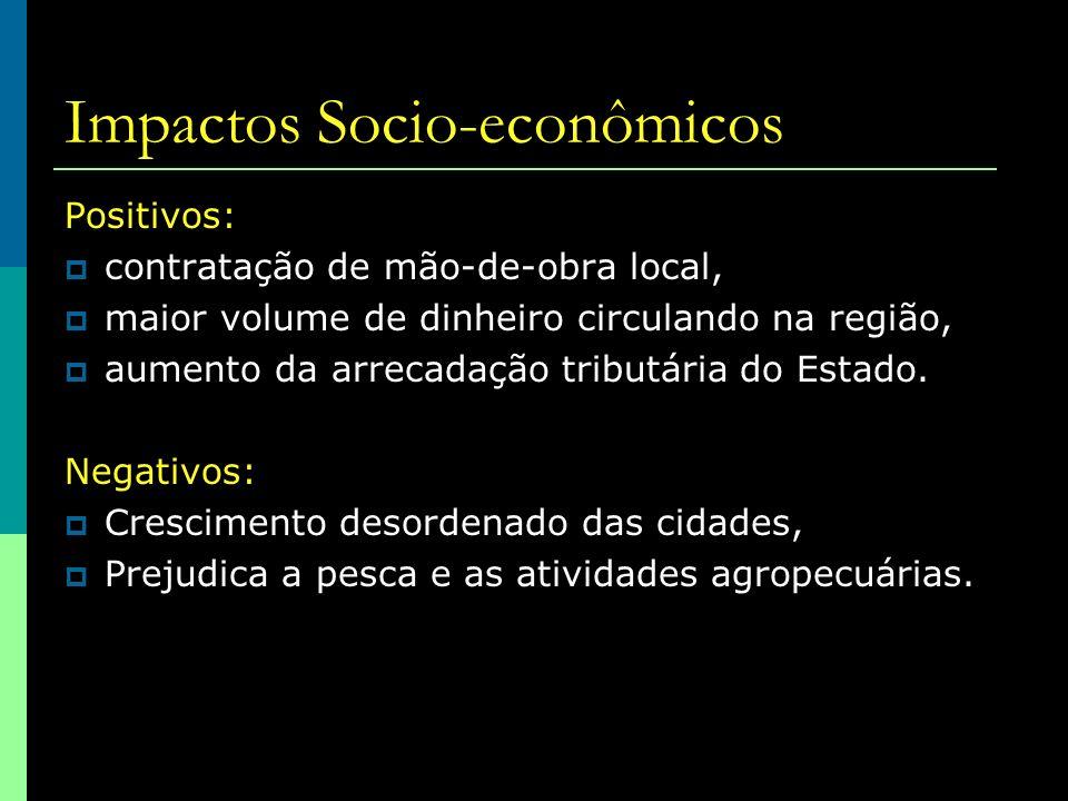 Impactos Socio-econômicos