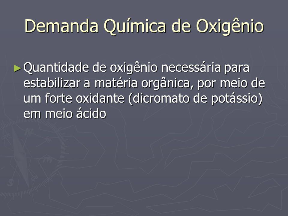 Demanda Química de Oxigênio