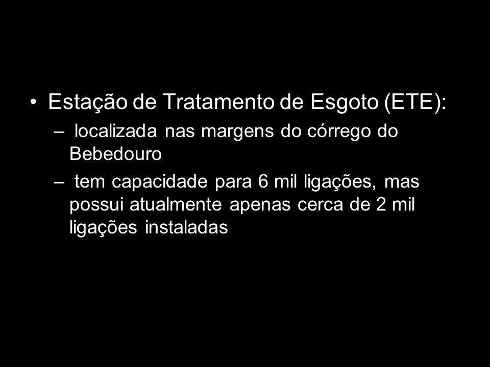 Estação de Tratamento de Esgoto (ETE):