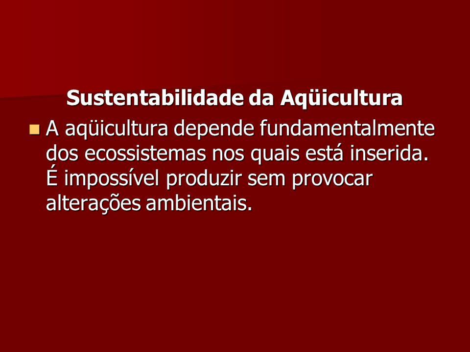 Sustentabilidade da Aqüicultura