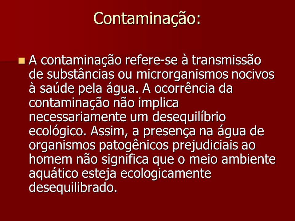 Contaminação: